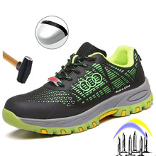 Men Boots Safety-Shoes Steel-Head Anti-Smashing Women Insulation And 6KV Summer Pu Anti-Puncture