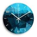 Звездное небо декоративные цифровые настенные часы  бесшумные Акриловые 3D DIY настенные часы  современный дизайн для кухни  часы для домашне...