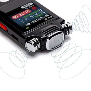 Image 4 - ノイズリダクション USB 充電カラーディスプレイ活性化ディクタフォンデジタルミニボイスレコーダー双方向マイク A B 繰り返し
