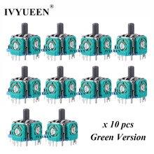 Ivyueen 10 pcs 소니 dualshock 4 ps4 프로 슬림 컨트롤러 3pin 3d 로커 조이스틱 축 아날로그 센서 수리 부품 액세서리