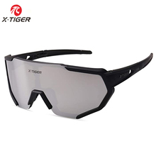 X-TIGER Summer Polarized Cycling Glasses Outdoor Sports MTB Bicycle Glasses Men