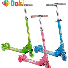 Ride On Cars Adjustable Kick Scooter For Kid Car To Drive Foldable 3 Wheels Outdoor Sport Toys Bicycle Big Car For Kids Children