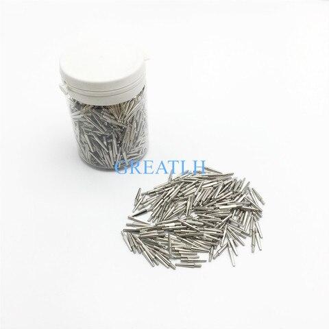 1000 pcs caixa laboratorio dental longo liga de zinco pinos passador longo 2 2 laboratorio
