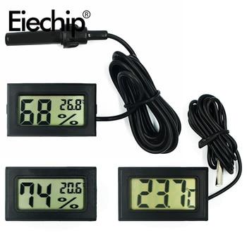 1M Mini wygodny cyfrowy termometr LCD cooler Sensor miernik higrometrowy do lodówki monitorowanie akwarium