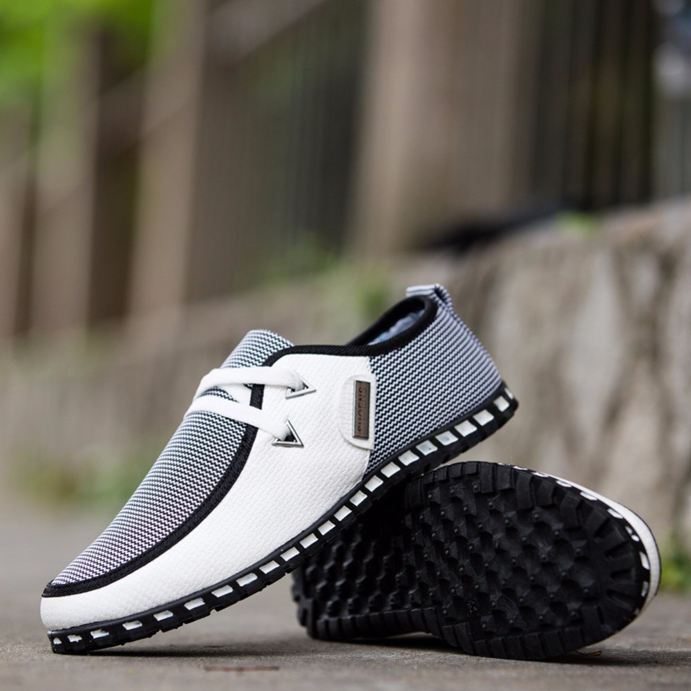 ZYYZYM Shoes Men Casual Shoes Light Breathable Loafers Spring Autumn Fashion Shoes For Men Shoes Large Size 2019 Best Seller in Men 39 s Casual Shoes from Shoes