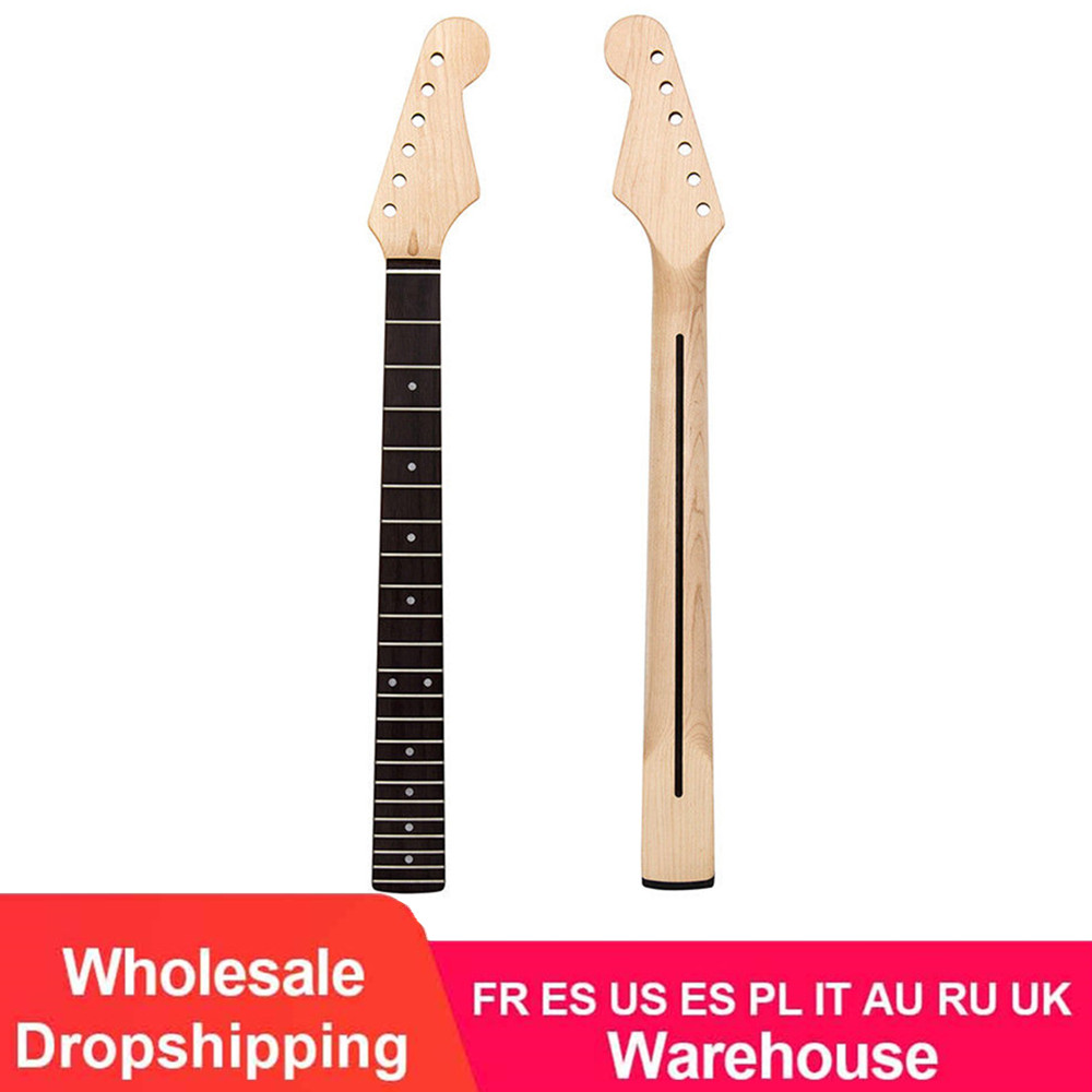 High Quality Electric Guitar Handle Maple Wood Neck Matte Products Rosewood Fingerboard Back Center Line Electric Guitar Neck