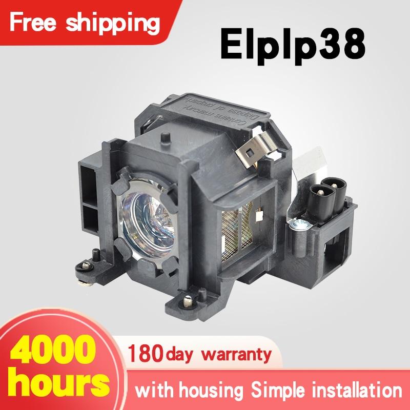 Wholesale/ Retail Projector Lamps ELPLP38 For E PSON EMP-1715/EMP-1705/EMP-1710/EMP-1700/EMP-1707/EMP-1717/EX100/PowerLite 1700c