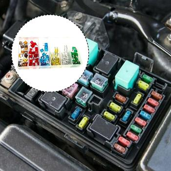 MINI Car Fuse 5A 7.5A 10A 15A 20A 25A 30A Amp with Blade Assortment Type Truck Auto Boat Box SUV Set Clip Vehicle Fuses M1H4 image