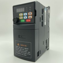 VFD AC 220V 380V 0.4 0.7 1.5 2.2 KW Variable Frequency Drive VFD Frequency Converter Inverter Speed Controller for 3-phase Motor