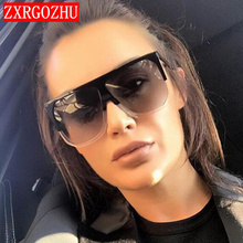 New Fashion Flat Top Sunglasses Women 2020 Luxury B