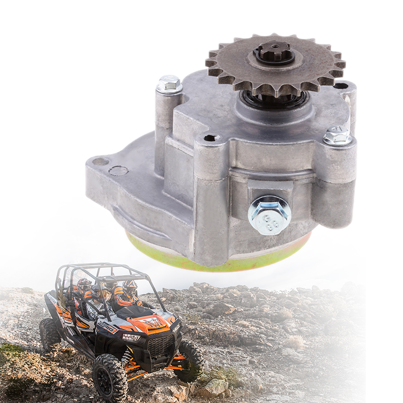 1x Aluminum Alloy Motorcycle Transmission Gear Box For 49CC 2-Stroke/4-Stroke Engine Mini Pocket Bike ATV PetrolScooter Chopper
