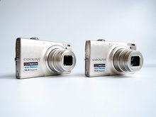 Nikon – COOLPIX S6100 caméra numérique 16 MP d'occasion, avec objectif de Zoom optique grand Angle 7x NIKKOR et écran tactile LCD 3 pouces
