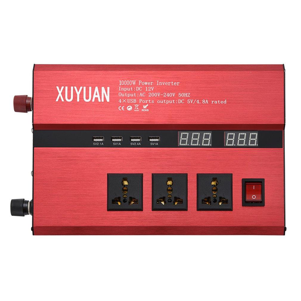 10000W onduleur solaire USB LED affichage AC/DC onde sinusoïdale convertisseur 3000w/4000 W/5000 W convertisseur d'énergie solaire LED convertisseur d'onde sinusoïdale