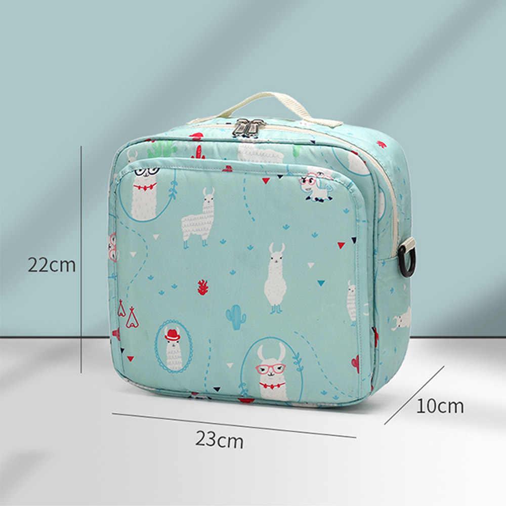أكياس حفاظات الطفل موضة المومياء الأمومة حقيبة الحفاض قابلة لإعادة الاستخدام حقيبة السفر الطفل الرطب/الجاف المنظم مقاوم للماء حقيبة الطفل التمريض