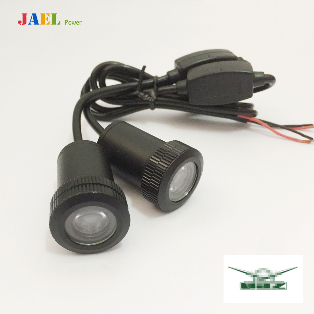 2PCs LED Car Door Welcome Light Case For UAZ Led Light Courtesy Led Car Laser Projector Logo Ghost Shadow Light