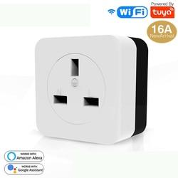 WiFi Smart Airconditioner 16A EU DE Metgezel Muur Plug Smart Leven Tuya App Controle Werk Met Alexa Google Thuis IFTTT