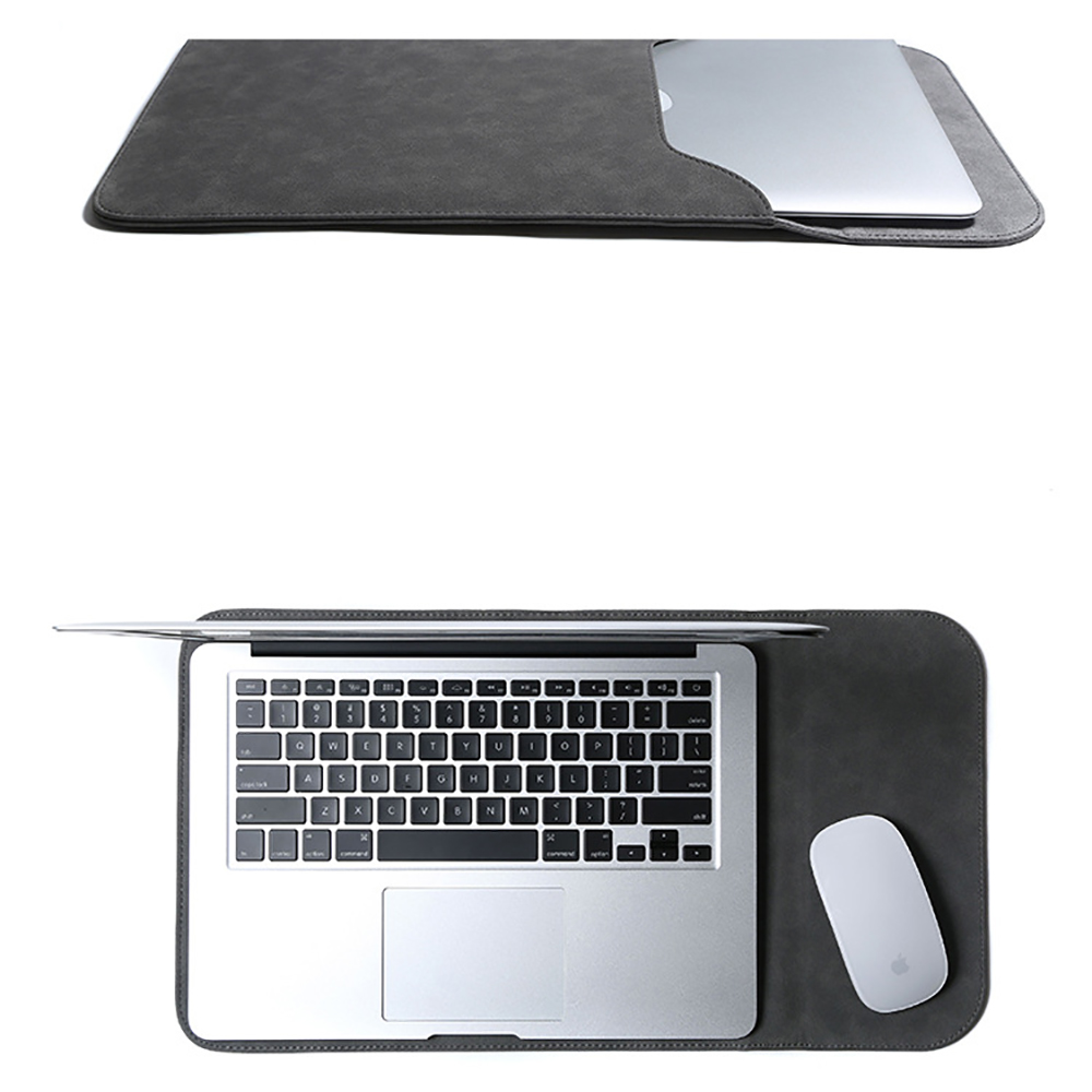 Для MacBook Pro 16 дюймов чехол для ноутбука Тонкий Мягкий защитный чехол из искусственной кожи против царапин водонепроницаемая сумка для ноутб...