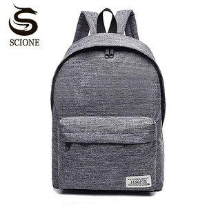 Scione Canvas Men's Backpack M