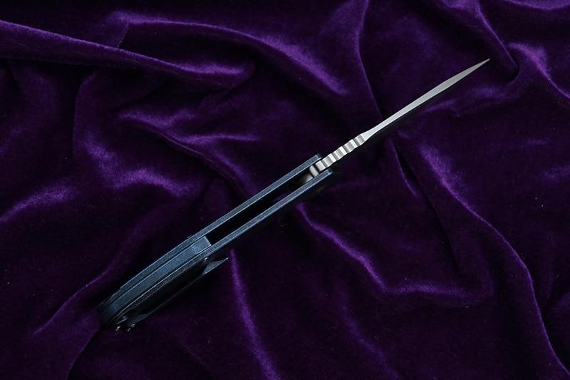 CH3504 design originale Flipper coltello pieghevole S35VN Cuscinetti - Utensili manuali - Fotografia 4