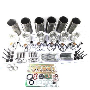 6D24 6D24T Engine Overhaul Kit For Hyundai Excavator Kato MG530 Crane and Truck ME995640