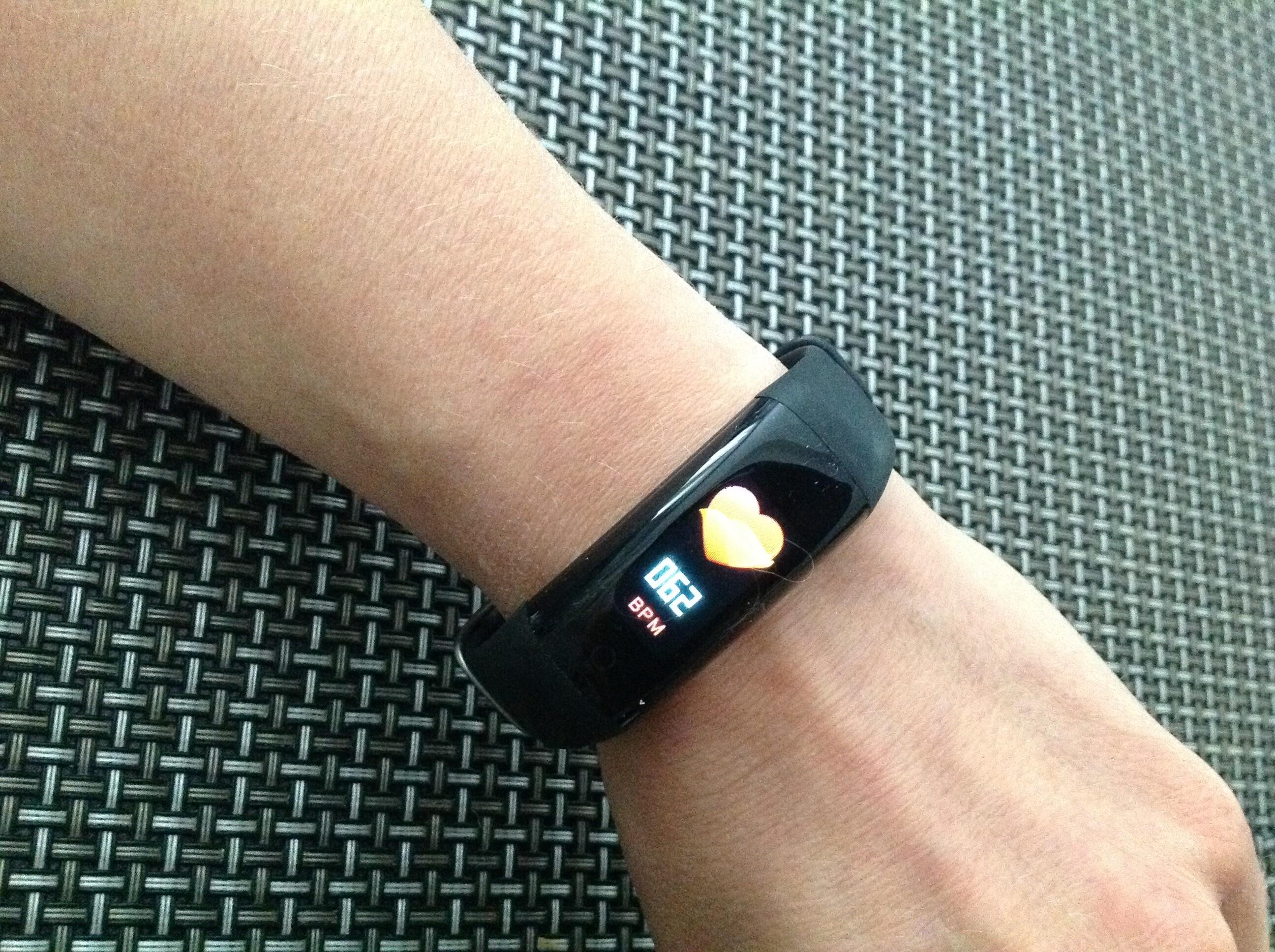 Wrist - S5 Smart Bracelet Fitness Tracker waterproof