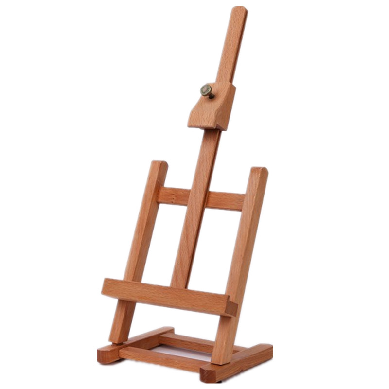 Adjustable Wooden Sketch Easel For Artists Painting Stand H-frame Table Easel Stand Painting Accessories Oil Paint Art Supplies