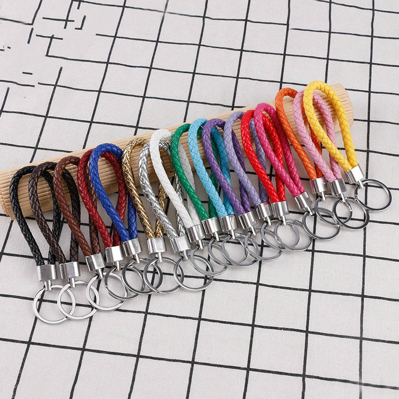 76 Colors Key Rope High Quality Keychain DIY Accessories 30Pcs / 50Pcs / 100Pcs Key Ring Wholesale And Retail