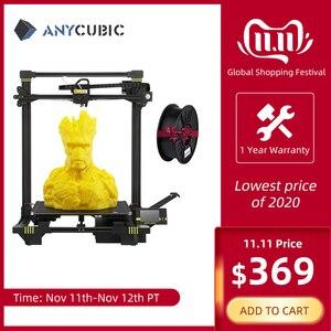 Image 1 - طابعة Anycubic ثلاثية الأبعاد anycubic Chiron Plus مطبوعة كبيرة الحجم 2019 طابعة ثلاثية الأبعاد طباعة لتقوم بها بنفسك أطقم FDM TFT impresora ثلاثية الأبعاد