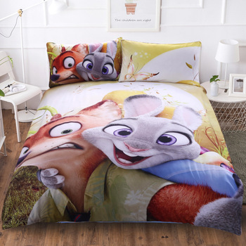 BEST.WENSD Children Favorite Anime Pattern Bedding High-end Single Double Bedding Set Cotton Home Textiles Bed Linen 3d Cartoon