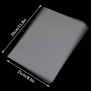 10Pcs Transparence Clear Brand A4 Size 11.8*8.3in Inkjet Printer Printing Film