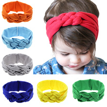 Baby Headband Headwear-Accessories Turban Color-Ties Toddler Girl Kids Child Boy Solid