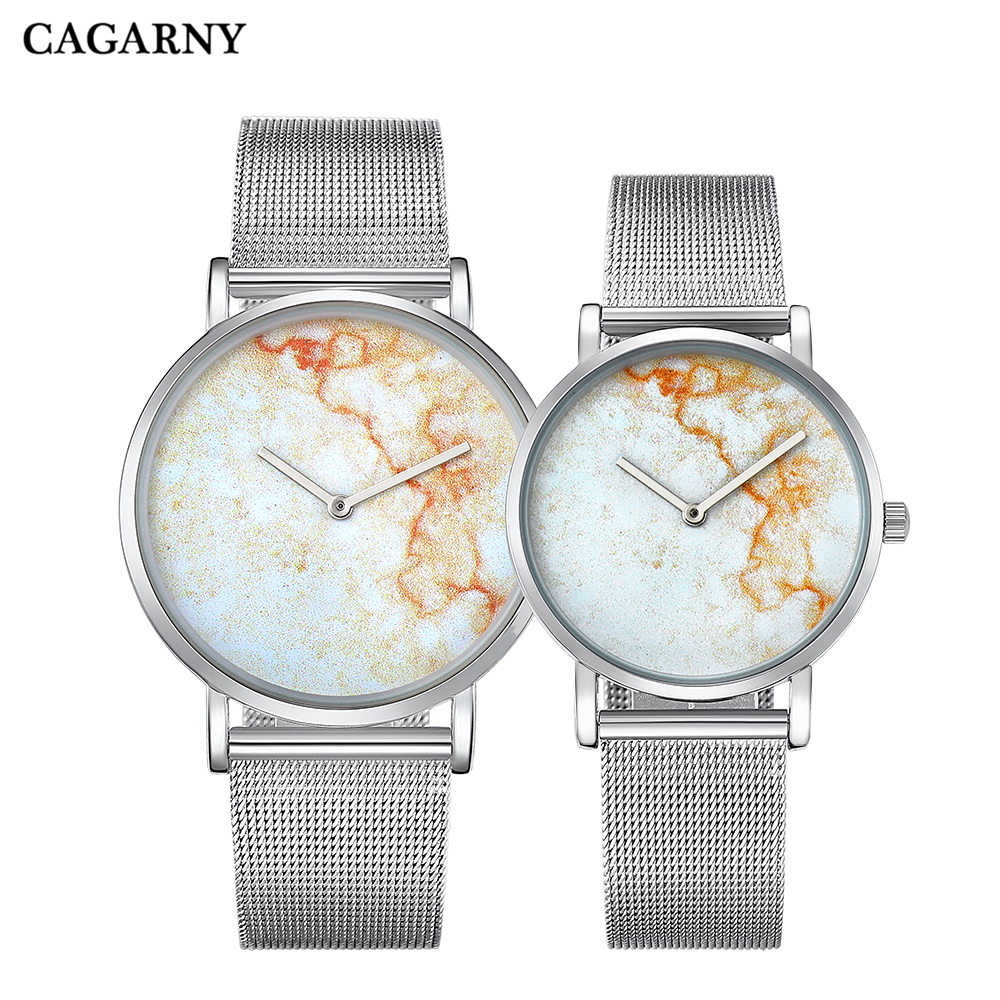 silver Watch Women Watches Ladies Creative Steel Women's Bracelet Watches Relogio Feminino Montre Femme marble pattern drop shipping men watches (12)