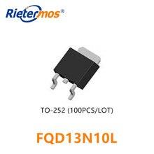 100 sztuk FQD13N10 FQD13N10L TO252 D13N10 13N10 SMD wysokiej jakości