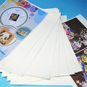 Sublimation Paper-Stickers T-Shirt Transfer-Paper Heat-Press A4 with for 10pcs/Set