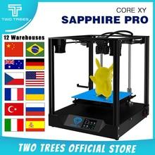 Twotrees EUรัสเซียโกดัง3Dเครื่องพิมพ์Sapphire Proเครื่องพิมพ์DIY BMG Extruder COREXY Sapphire DIYชุด3.5นิ้ว