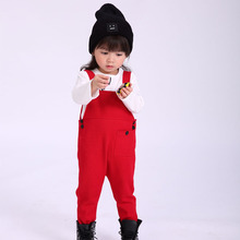 купить Baby Overalls 2019 Fall Autumn Winter Cotton Overalls Toddler Kids Boy Girl Overall Jumpsuit Baby Knit Clothes 1 2 3 4 5 Year дешево