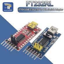 FT232RL FT232 FTDI USB 3.3V 5.5V לttl סידורי ממיר מתאם מודול מיני יציאת עבור Arduino Pro Mini USB כדי 232 USB לttl