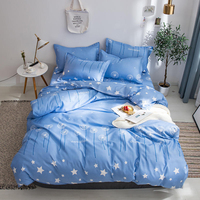 Thumbedding Dandelion Bedding Set Twin Fantasy Fashion Blue Classic Duvet Cover Star King Queen Full Single Comfortable Bed Set