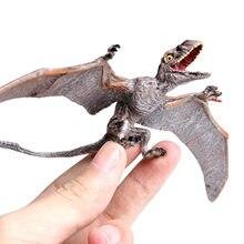 Modelo para simulación de dinosaurio, juguete de plástico sólido para niños, dinosaurio jurásico, pterosauro, pterodactilo, Dragón Volador