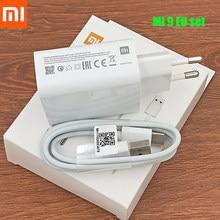 Oryginalna Xiaomi 27W mi szybka ładowarka ue QC 4.0 turbo adapter 100cm typ c kabel dla mi 9 10 pro 9t CC9 redmi uwaga 7 8 pro K20 pro