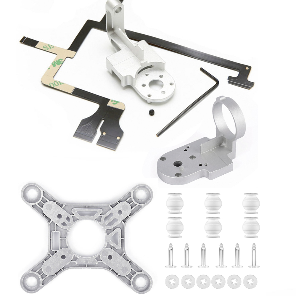 Repair Parts For DJI Phantom 3 Advanced Drone Yaw Arm Roll Bracket Flat Ribbon Flex Cable Gimbal Mount Motor Camera Accessory