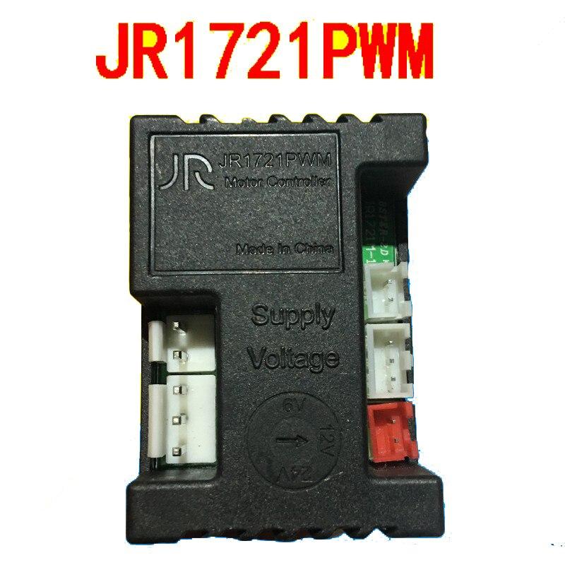 Wellye jr1721pwm JR-1721PWM receptor crianças carro elétrico