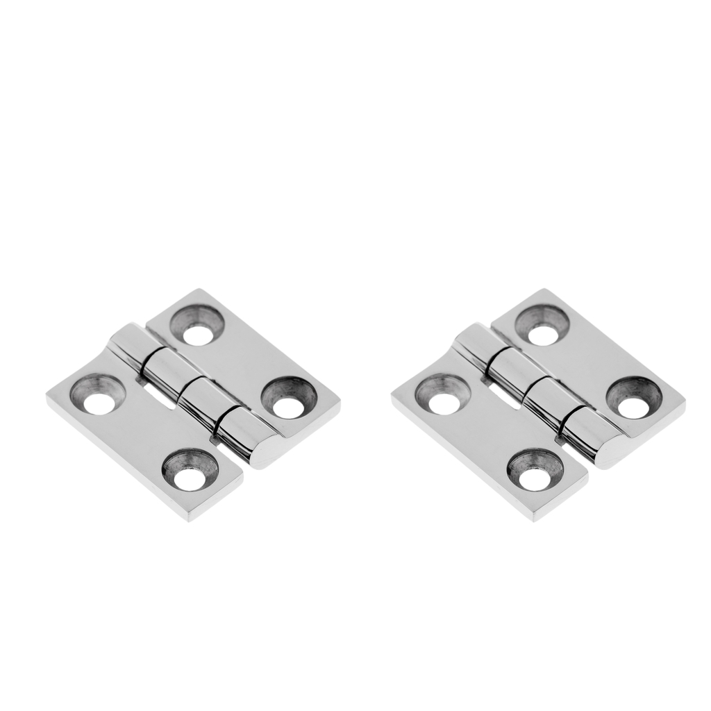 """2 pieces of a 316 SS Butt Hinge,2/""""X  2/"""""""