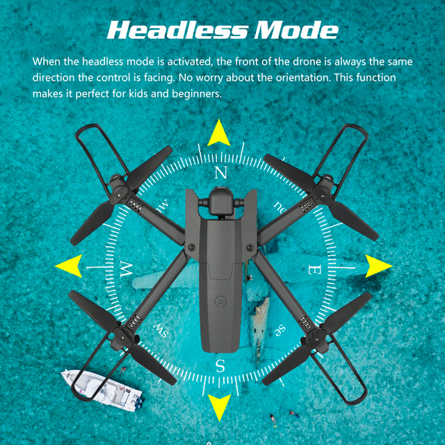 Global Drone 4K Drone Quadrocopter Dron Long Fly Time RC Helicopter Selfie Drones with Camera HD VS SG901 SG106 SG706 E58 E520 5