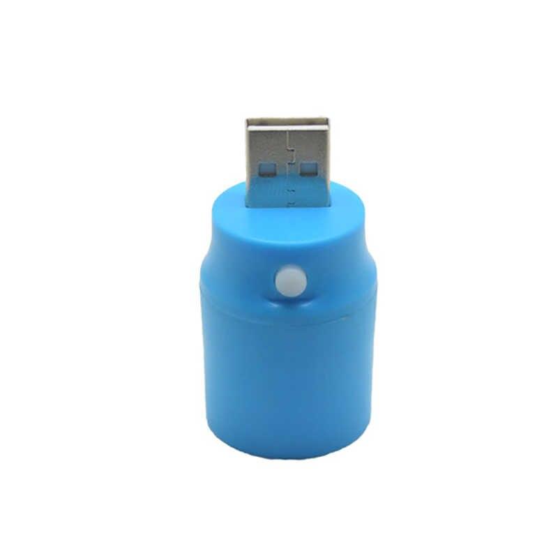 Mini USB Lámpara de noche con luz LED pequeña lámpara de ordenador para ordenador portátil lámpara para lectura de libros luz nocturna portátil 1W 100lm
