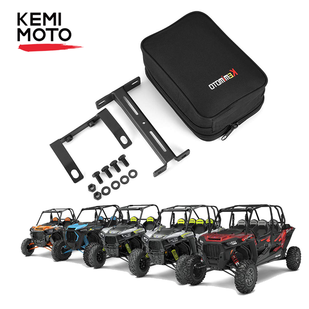 1000//1000 S 1000 XP//XP 1000 Turbo KEMIMOTO UTV Cab Pack Center Storage Bag N Armrest for Polaris RZR 800 900//900 S