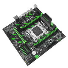 Dual PCI-E 16X NVME M.2 SSD support motherboard