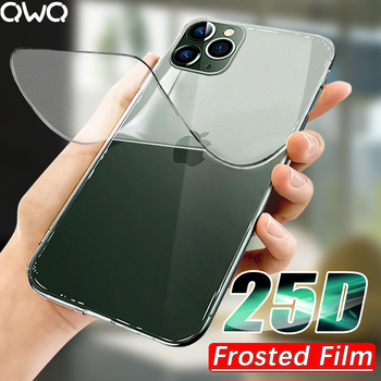 25D Frosted Hydrogel Film For iPhone SE 2020 11 Pro MAX Screen Protector For iPhone XR X XS MAX 6 6s 7 8 Plus 11 Full Cover Film 1