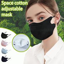 Wielokrotnego użytku maska 4pc zima na zewnątrz odporna na zimno moda czysta bawełna oddychająca ciepło 3d Stereo zmywalny usta maska 2021 tanie tanio Poliester NONE CN (pochodzenie) WOMEN Drukuj 20210120141932 masks hygienic approved masker cute Mask filter face mask many times