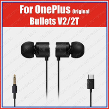 цены BE02B/T DAC Original OnePlus Bullets 2T Type-C Bullets V2 3.5mm Earphones Headsets With Mic For Oneplus 7T Pro 7 Pro 6T 6 5T 5